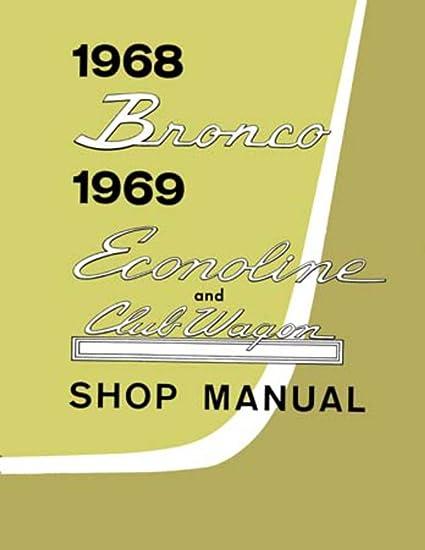Amazon Com Bishko Automotive Literature 1968 1969 Ford Bronco