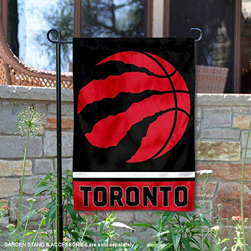 WinCraft Toronto Raptors Double Sided Garden Flag