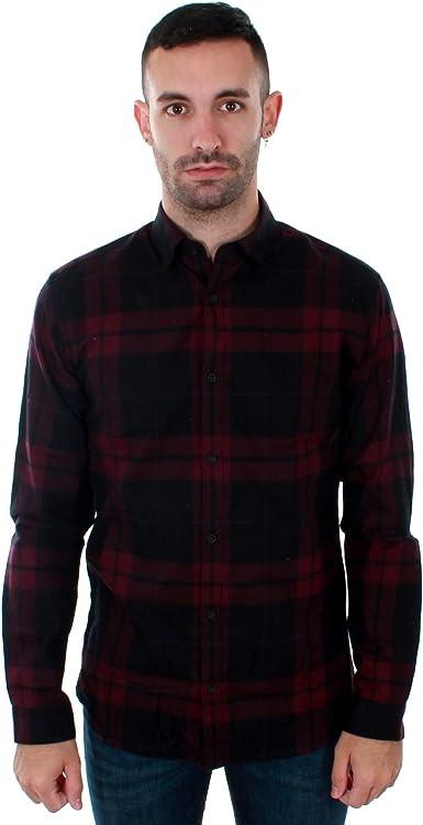 Camisa Jack&Jones Hombre Burdeos 12143528 JPPRAY Shirt LS Potente Purple Slim FIT: Amazon.es: Ropa y accesorios