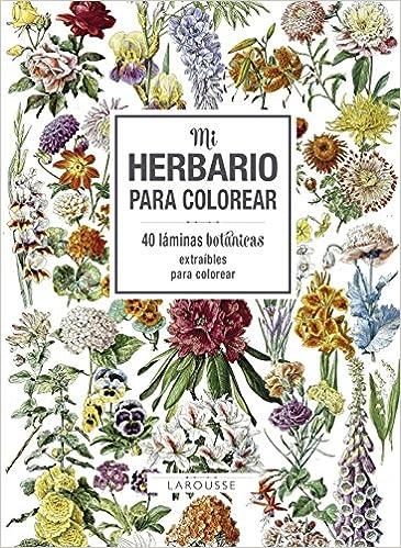 Mi herbario para colorear Larousse - Libros Ilustrados/ Prácticos ...