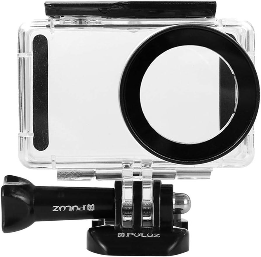 Funda Protectora Impermeable para Xiaomi Mijia 4K Mini cámara de acción Buceo 45m con Tornillo de fijación y Base