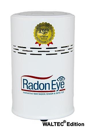 waltec® - Radon Eye - El hogar Radon Medidor para los usuarios domésticos - Rápido y seguro Radon Medir con el radoneye: Amazon.es: Bricolaje y herramientas
