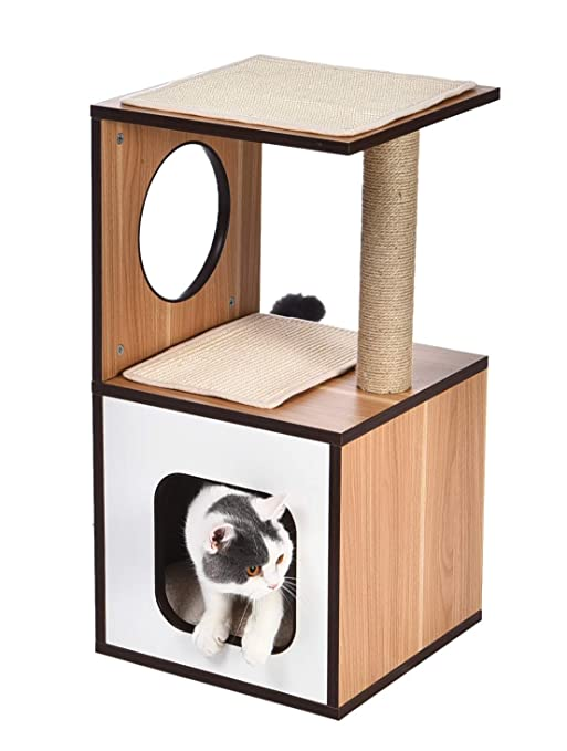 Amazon Basics Wooden Cat Furniture by Amazon Basics