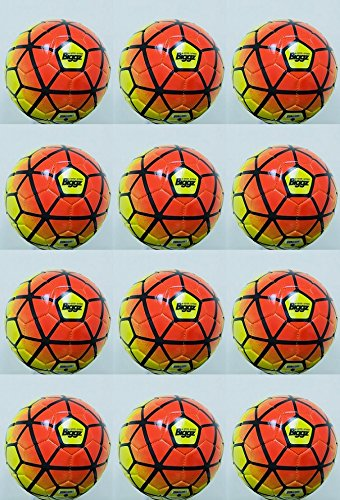 (Pack of 12) Soccer Balls Size 5 Bulk Wholesale Durable