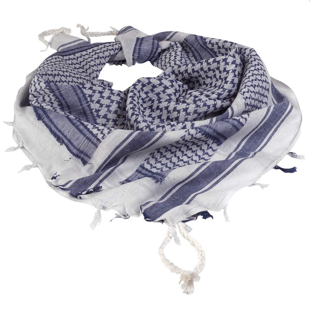 Shemagh / Palestinian Neckscarf Arab Arab scarf blue/white DR-Sicherheitssysteme 12617000