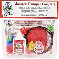 Kit de limpieza y cuidado de trompeta /corneta Monster | Aceite de válvula, grasa de deslizamiento y más ¡Todo lo que necesitas para cuidar y limpiar tu trompeta!