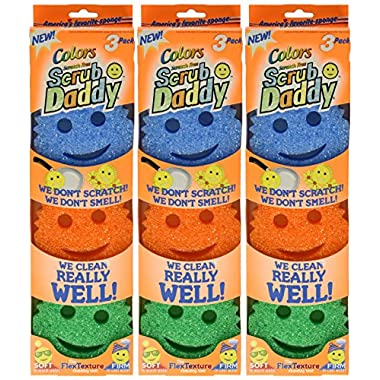 Scrub Daddy Colors, 9 Pack