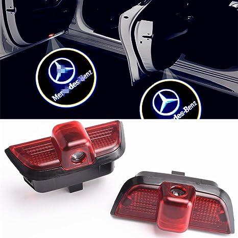 2 St/ück Einstiegsbeleuchtung T/ür Licht Logo Projektor Autot/ür Logo Projektion