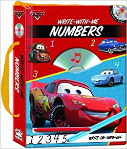 Buy Disney Cars: Write-with-me Numbers Book Online at Low Prices in
