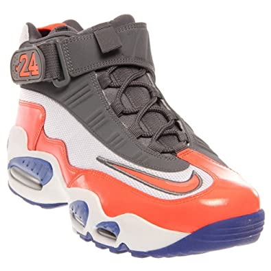 new product 9be82 eb324 NIKE Mens Air Griffey Max 1 Color  White Total Crimson Hyper Blue 354912