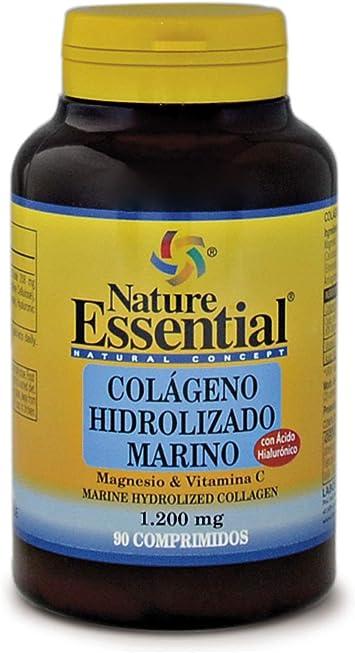 Nature Essential Colágeno Marino Hidrolizado - 90 Tabletas: Amazon.es: Salud y cuidado personal