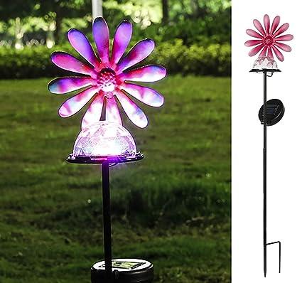 Amazon.com: PEARLSTAR - Lámpara solar de jardín para ...