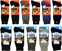 Men's Polar Extreme Moisture Wicking Insulated Thermal Socks in 4 Great Colors