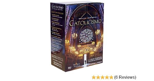 Amazon.com: Catolicismo La Serie Completa (Coleccion de Cinco Discos) by Bishop Robert Barron: Bishop Robert Barron, Matt Leonard: Movies & TV