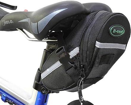 Bolsa de Sillín para Bicicleta,GYOYO Bicicletas Bolsa, Alforjas ...