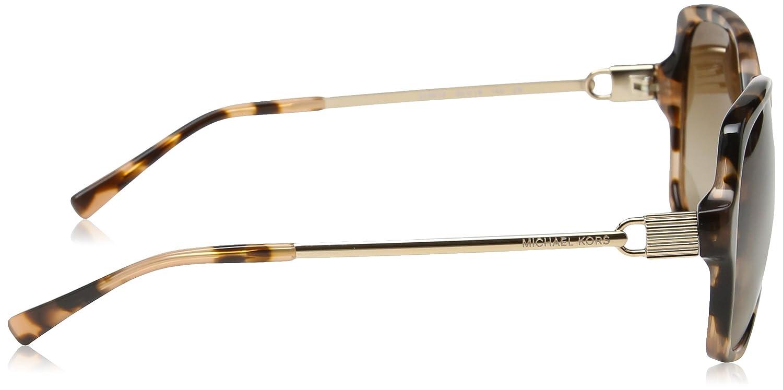80cde34d7f Michael Kors women MK 2053 315513 PEACH TORT sunglasses at Amazon Women s  Clothing store