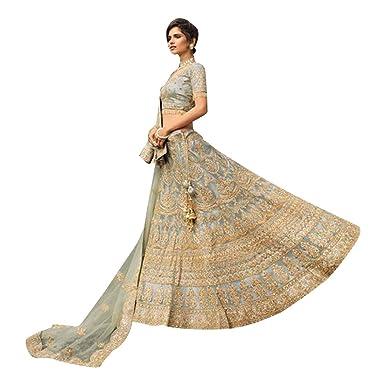 8510 Designer Bridal Lehenga Choli Dupatta Skirt Falda Set Indian ...
