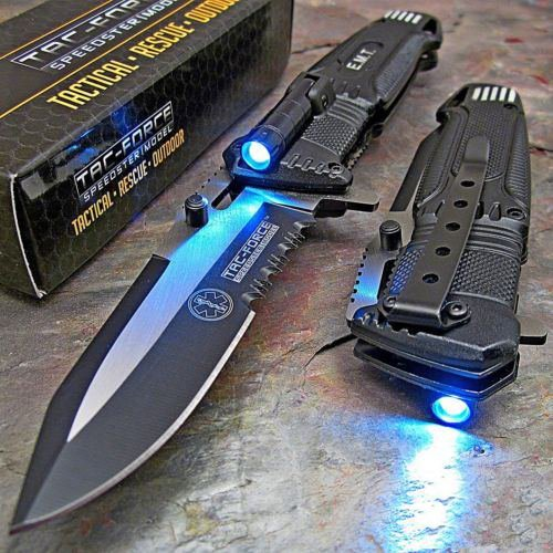 TAC FORCE Light Folding Pocket Rescue