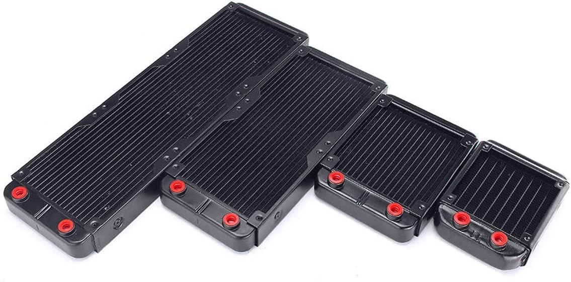 ZHQHYQHHX 90 120/240/360 mm de Aluminio Ordenador PC Agua de refrigeración Equipo Sistema de disipación de Calor del radiador Módulo de relé (Size : 360mm)