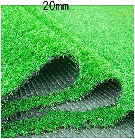 XEWNEG 庭人工芝、20ミリメートル杭高さ、暗号化肥厚幼稚園プラスチックシミュレーション芝生、グリーンスクールカーペット屋外バルコニー装飾 (Size : 2x8M)