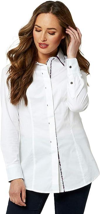 Joe Browns - Camisa de Cuello Doble para Mujer (40 EU ...