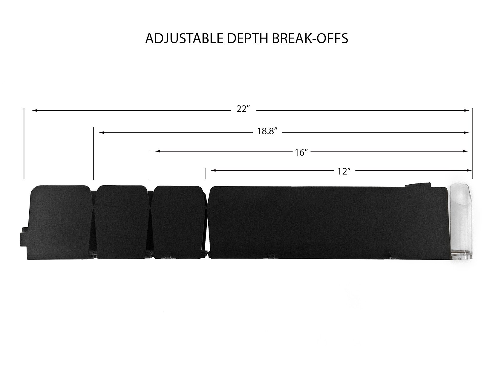 Display Technologies, LLC 12/16oz. Visi-FAST Pusher Glide - 1 Pack by Display Technologies, LLC (Image #7)