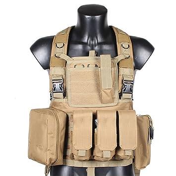 RRV Adjust Have Duty Camouflage Interceptor Tactical Vest Colete Airsoft Tactical  Molle Body Armor Combat Plates 4c9a2de03519a