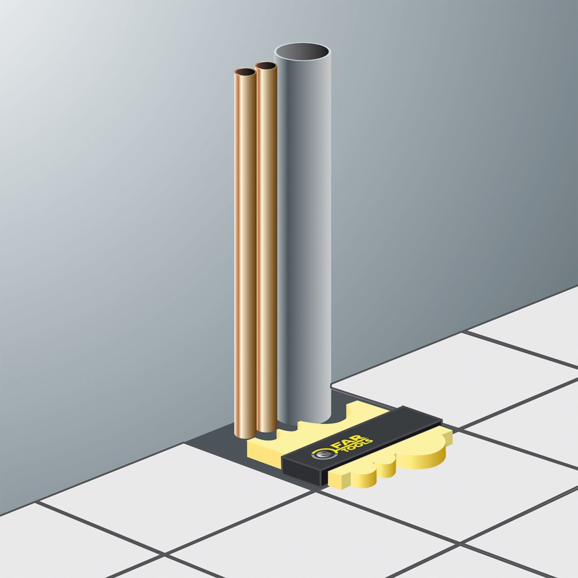 Caja de ingletes 125 mm Fartools 116524
