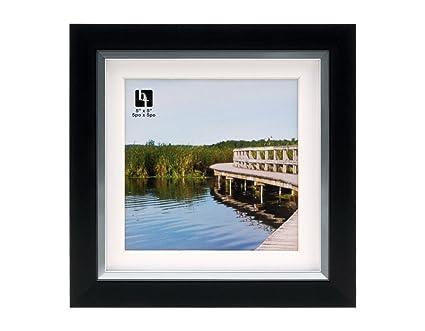 Amazon.com - BorderTrends Legacy 6x6/5x5-Inch Photo Frame, Black ...