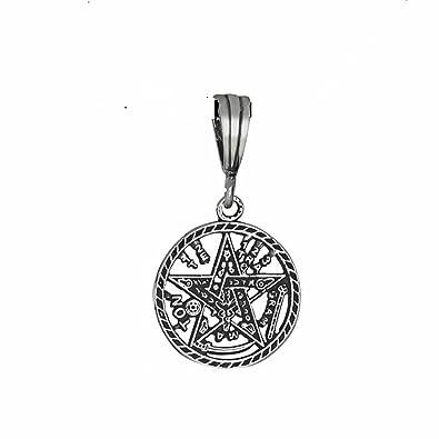 Amazon 925 sterling silver tetragrammaton pentagram pagan amazon 925 sterling silver tetragrammaton pentagram pagan pendant jewelry aloadofball Images