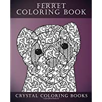 Ferret Colouring Book for Adults: A Stress Relief Adult Coloring Book Containing 30 Ferret Patterns: Volume 1