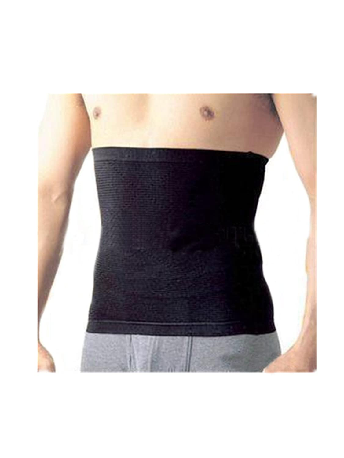 Leright Men's No Closure Waist Cincher Firm Compression Waist Trainer Shapewear
