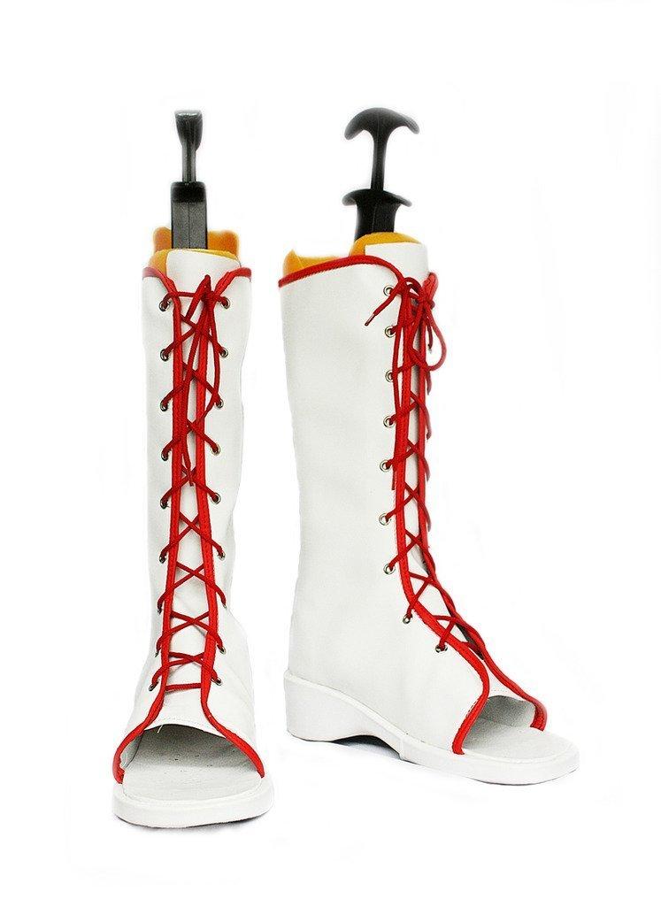 N aruto Haruno Sakura cosplay shoes costom made