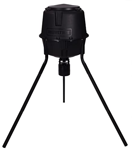 Moultrie 30 Gallon Easy-Lock Tripod Deer Feeder
