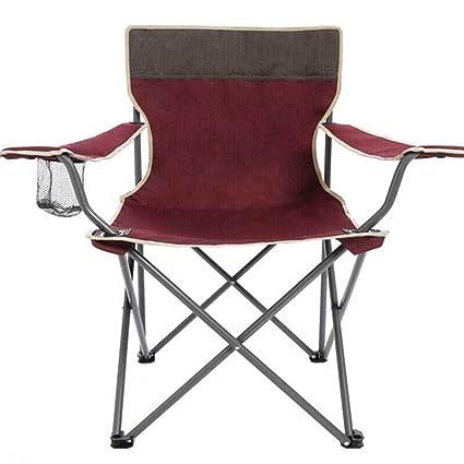 GHM Chaise De Camping Dossier Pliante En Plein Air Portable Beach Peche Casual