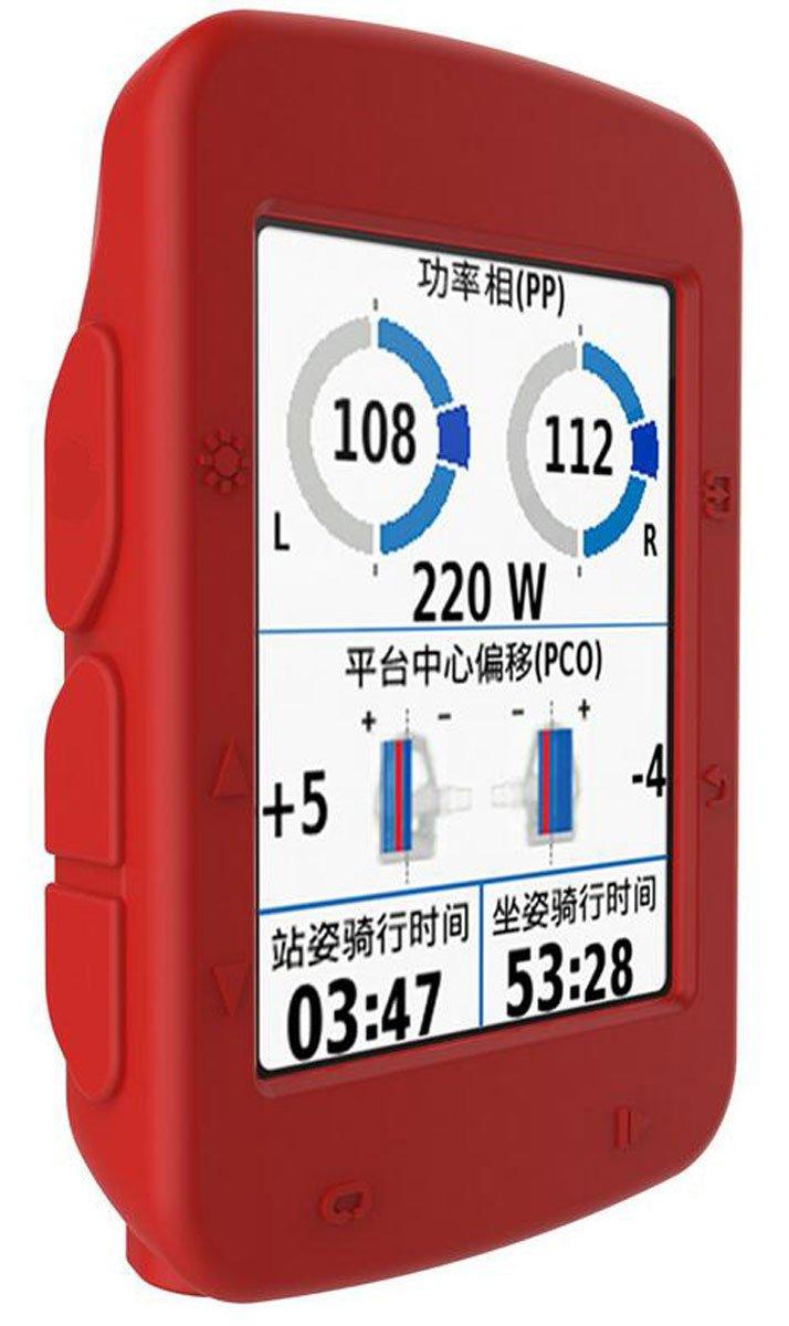 1 Free Screen Protector Gift Silicone Cover for Garmin Edge 520 GPS Device JINCH for Garmin Edge 520 Cycling Computer Bike GPS Case