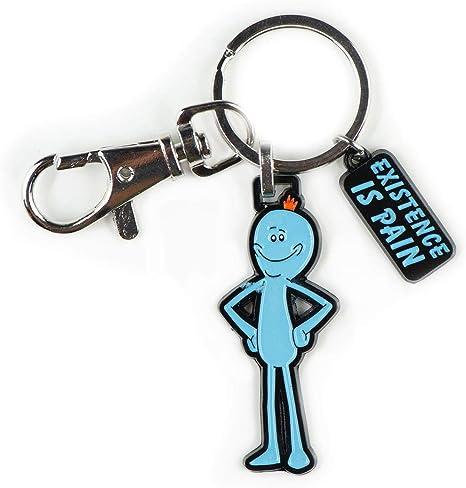 Amazon.com: Rick y Morty Mr meeseeks. Esmalte llavero ...