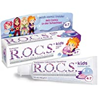 Toothpaste R.O.C.S Kids Bubble Gum 45 g. 4-7 Years Old