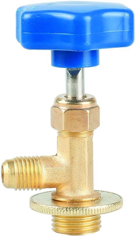Bouchon adaptateur pour réfrigérant bouteille 1//4 SAE à 3//8 SAE climatisation