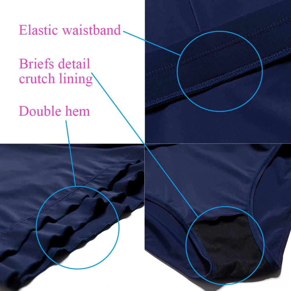 KEEPRONE Womens Plus Size Swim Shorts Swimsuit Bottoms Swimwear Board paired Bikini Tankinis