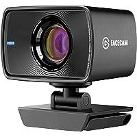 Elgato Facecam - True 1080p60 Full HD Webcam, Sony Sensor, Fixed-Focus Glass Lens, Optimized for Indoor Lighting…