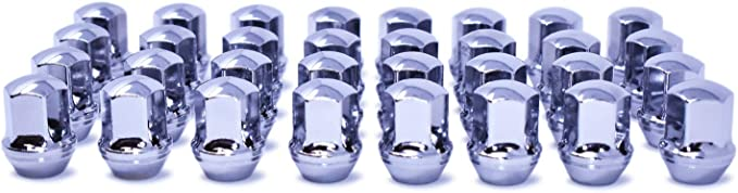 PK 5 MPB1380-1 Each Steel Midwest Acorn Nut Round Spacer Chrome-Plated 7//8 Outside Dia
