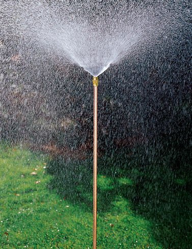 Gardeners Supply Company Hi Rise Lifetime Sprinkler