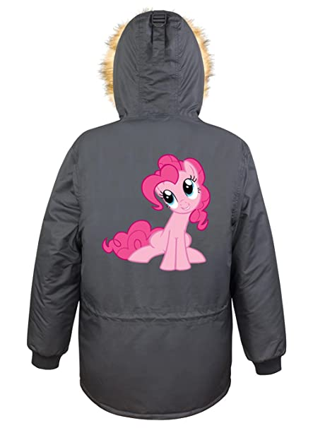 Pinkie Pony Parka Girls Negro Certified Freak-L: Amazon.es: Ropa y accesorios