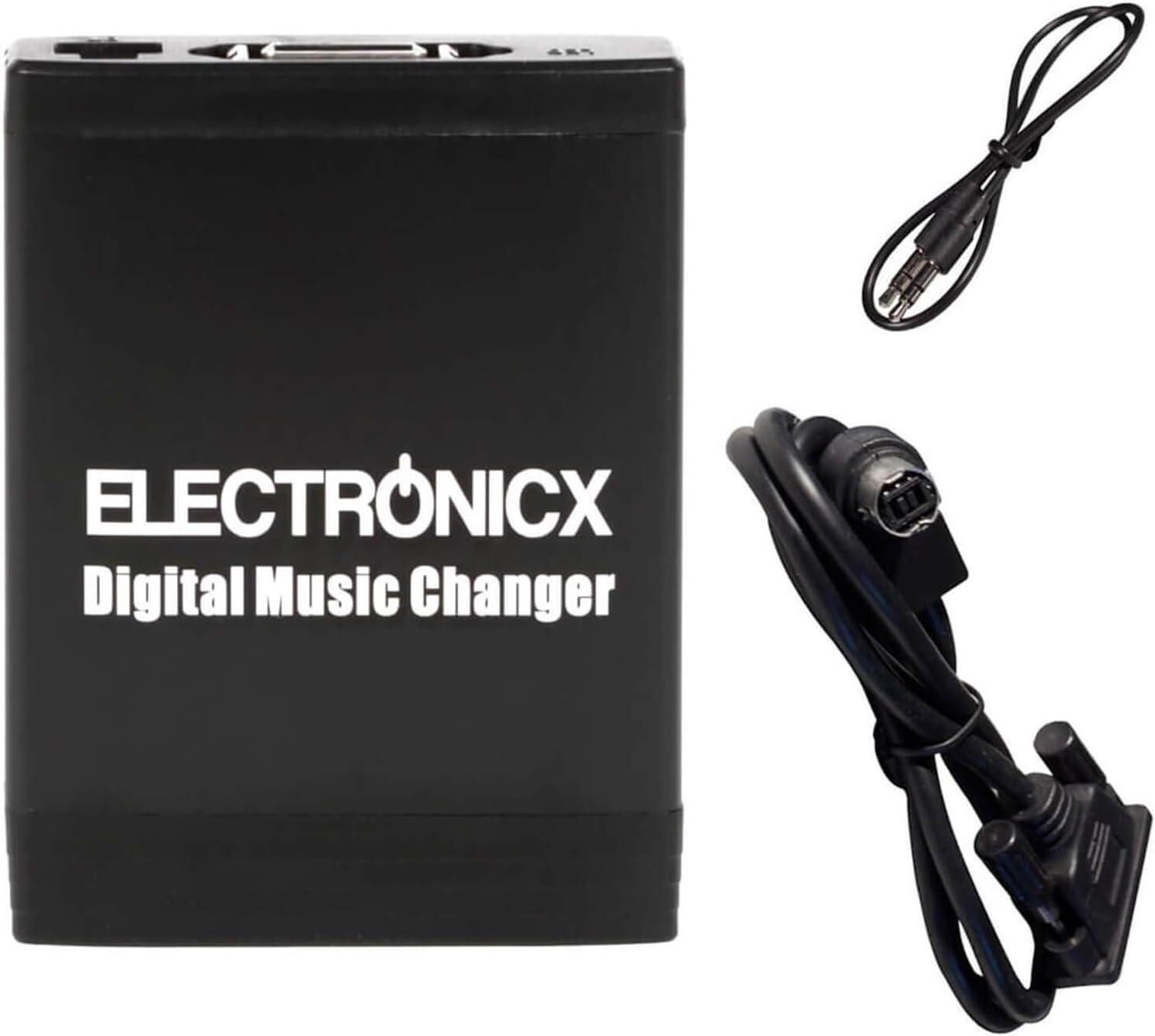 Electronicx Elec-M06-AI-NET Adaptador de Musica Digital para Coche ...