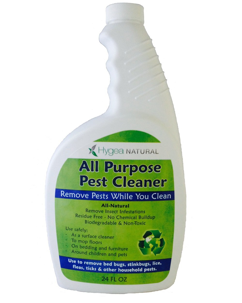 Bed Bug 911 Hygea Natural | All Purpose Pest Cleaner |24 oz Spray
