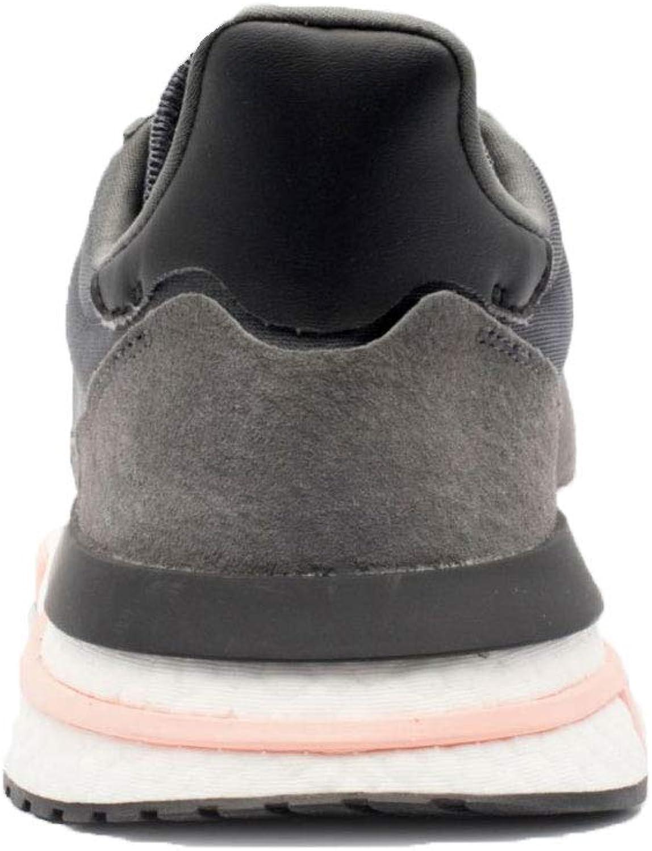adidas Men's ZX 500 RM GreyCloud WhiteClear Orange B42217