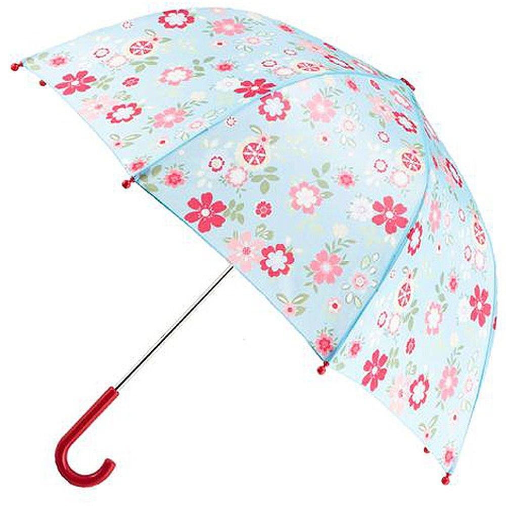 Pluie Pluie Raingear Blue Floral Print Kids Umbrella
