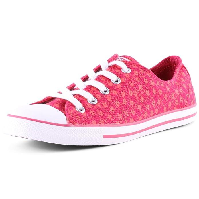 Converse Chuck Taylor (Chucks) All Star Ox Sneaker Unisex-Erwachsene Rosa (Berry Pink Blush)