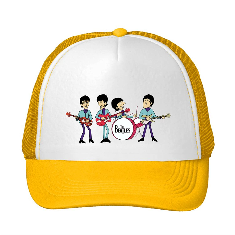 The Beatles Cartonn Funny Logo Printing Mesh Sun Caps Snapback Hats